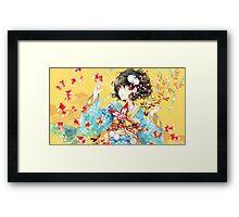 japan anime Framed Print