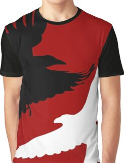 Black Crow, White Raven. Graphic T-Shirt