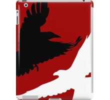 Black Crow, White Raven. iPad Case/Skin