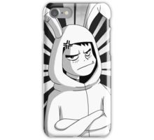 Beast Boy in a bunny suit (Manga) iPhone Case/Skin