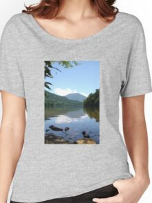 Mountainside Lake Women's Relaxed Fit T-Shirt