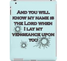 ...AND YOU WIL KNOW iPad Case/Skin