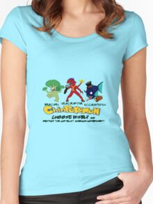 ChinPokemon South park Women's Fitted Scoop T-Shirt