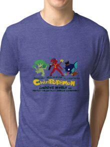 ChinPokemon South park Tri-blend T-Shirt