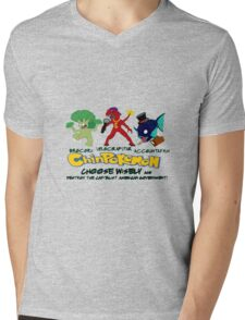 ChinPokemon South park Mens V-Neck T-Shirt