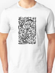 Writing letters tee design T-Shirt