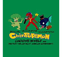 ChinPokemon South park Photographic Print