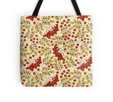 Red Rowanberries Tote Bag