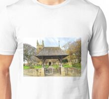 Lych Gate to All Saints Church, Helmsley Unisex T-Shirt