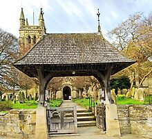 Lych Gate to All Saints Church, Helmsley by Rod Johnson