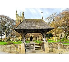 Lych Gate to All Saints Church, Helmsley Photographic Print