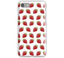 Strawberry Repeat iPhone Case/Skin