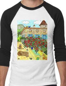Beautiful Farm of Brigaudière Men's Baseball ¾ T-Shirt