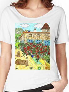 Beautiful Farm of Brigaudière Women's Relaxed Fit T-Shirt