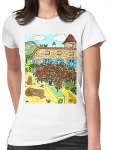 Beautiful Farm of Brigaudière Womens Fitted T-Shirt
