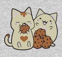 Choco Cats One Piece - Long Sleeve