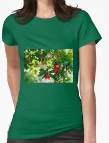 Bright and Beautiful Berries Womens Fitted T-Shirt