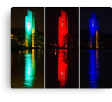 The Carillon showing its colours Canvas Print