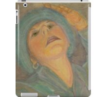 Self Portrait with a Hat iPad Case/Skin