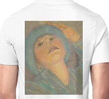 Self Portrait with a Hat Unisex T-Shirt