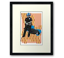 Flux Capacitor, Sep 5th 2016 (No Text) Framed Print