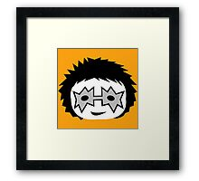 KISS - Spaceman Ace Frehley chibi Framed Print
