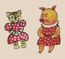 Little Cat and Ms Hogg by ANewKindOfWater
