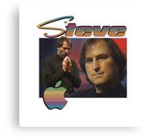 Steve Jobs 90s Tee Canvas Print