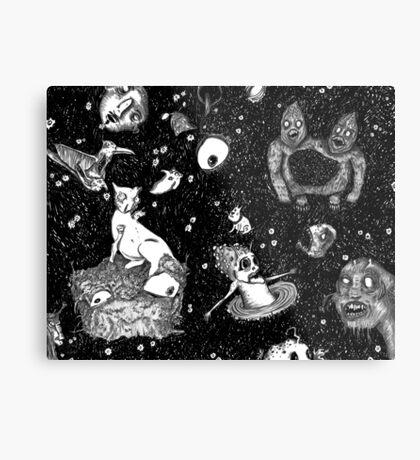 I Like Your Monsters + Demons Metal Print