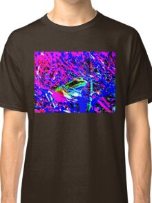Psychedelic Frog Classic T-Shirt