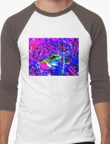 Psychedelic Frog Men's Baseball ¾ T-Shirt