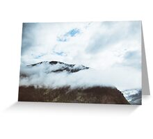 Clouds Over the Hill Greeting Card