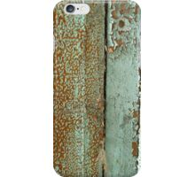 Weathered ~ Peeling Paint © iPhone Case/Skin