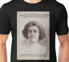 Performing Arts Posters AQ Scammons The sleeping city 0403 Unisex T-Shirt