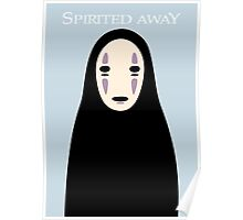 Spirited Away / No Face Poster