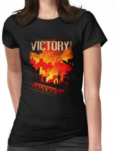 VICTORY! Womens Fitted T-Shirt