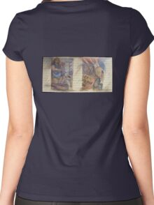 The Declaration of American Poverty Women's Fitted Scoop T-Shirt