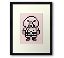 Pigmask - Mother 3 / Earthbound 2 Framed Print
