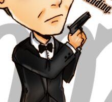 Bond Last Rat Standing - Skyfall Sticker