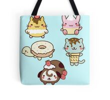 Cream Pets Tote Bag