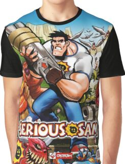Serious Sam XBOX Graphic Graphic T-Shirt