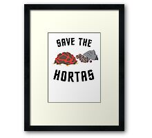 Save The Hortas (Star Trek) Framed Print