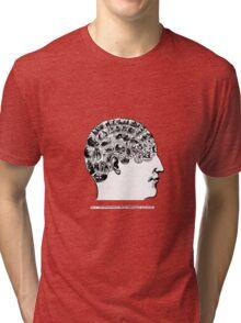 phrenological organs symbolically - gift idea Tri-blend T-Shirt