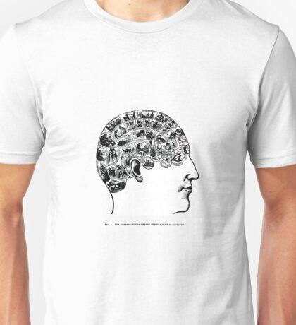 phrenological organs symbolically - gift idea Unisex T-Shirt