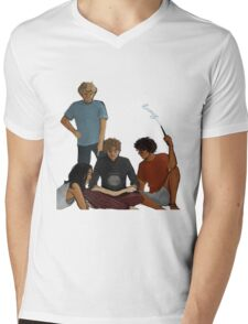 Marauder's Map Mens V-Neck T-Shirt