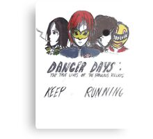 Danger Days  Metal Print