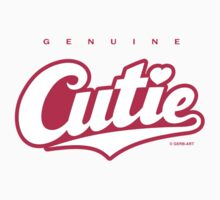 GenuineTee - Cutie (white/pink) by GerbArt