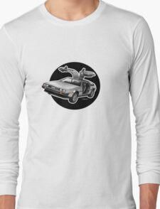 Delorean Iconic sportscar.. Long Sleeve T-Shirt