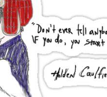 Holden Caulfield Sticker
