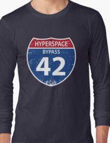 Hyperspace Bypass 42 Long Sleeve T-Shirt